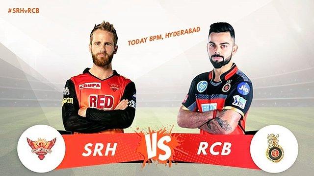 Sunrisers Hyderabad vs Royal Challengers Bangalore